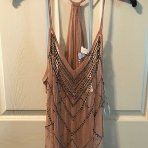 Forever 21 NWT knit top sequin details